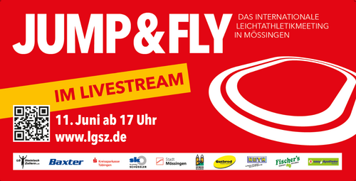 JUMP & FLY am 11. Juni: mit Livestream und Zuschauern